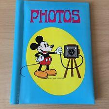 More details for walt disney photos album vintage 1970's rare collectable disneyana mickey mouse