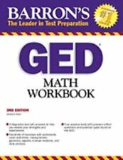 GED Math Workbook (Barron's: The Leader in Test Preparation), Holm, Johanna, Ver