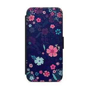 Floral Flower Pattern WALLET FLIP PHONE CASE COVER FOR iPhone Samsung Huawei z79