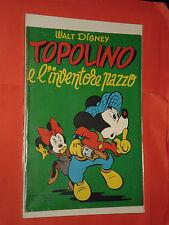 ALBO D'ORO TOPOLINO n° 119-A-DEL 1953-LIRE 50- INVENTORE PAZZO-mondadori-disney