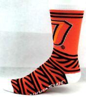 Oklahoma State Cowboys NCAA Crew Socks Orange Black White