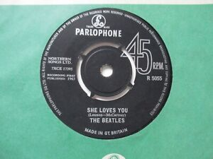 THE BEATLES****SHE LOVES YOU c/w I'LL GET YOU**RARE DECCA CONTRACT PRESSING 1963