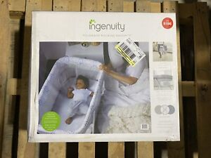 Ingenuity Foldaway Rocking Bassinet - Fletcher Easy Fold Machine Washable Sheet