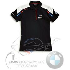 Motorsport Polo Shirt Women's Genuine BMW Motorrad Motorcycle STYLE