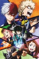 MY HERO ACADEMIA - CHARACTER COLLAGE POSTER 22x34 - 16404