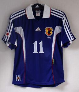 1999-00 JAPAN Home shirt S/S No.11 KAZU Miura Player Issue Equipment 99 jersey