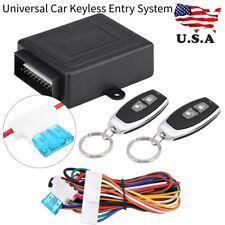 Keyless Entry System Car Door Lock Remote Contral Centrol Locking Kit Universal
