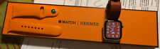 Apple Watch Hermès Series 5 40mm Brique/ Beton Single Tour & Sportarmband Orange