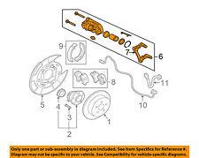 MITSUBISHI OEM 06-09 Eclipse Rear-Brake Disc Caliper 4605A016