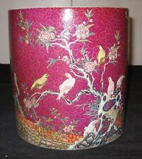 Chinese Republic, Artist Liu Yucen Work On Porcelain Pot, Qianlong Mark, Nr.