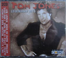 2 CD´s Box:Tom Jones-Legendary Hits    NEU!!