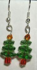 Christmas Tree S S French Hook Earrings 3162