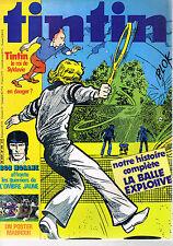 ▬►TINTIN N° 290 de 1981 Bob Morane - Publicités Big Jim et Tintin pour Nestlé