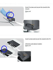 USA NEW Samsung UN46F5500 UN46F5500AFXZA LCD TV Screws for Stand - 8 screws