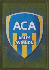 N°515 ECUSSON BADGE # AC.ARLES AVIGNON STICKER PANINI FOOT 2012