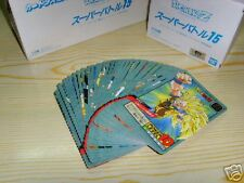 Japan Dragonball Dragon ball Z Cartes Card Power Level 15 Regular Set