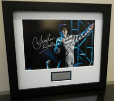 JUSTIN BIEBER SIGNED AND FRAMED PHOTO NEVER SAY NEVER