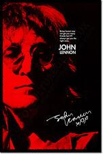 John Lennon Arte Foto Stampa 2 POSTER DONO PREVENTIVO amici