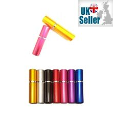 5ml Mini Refillable Pocket Perfume & Aftershave Atomiser Holiday Spray Bottle