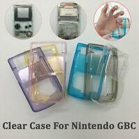 New TPU Clear Protective Shell Case Cover Skin For Nintendo GBC / Game Boy Color