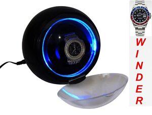 "Single Automatic Watch Winder-  model: Atom-1BPL-LED (=Diplomat-LED) ""Star Wars"""