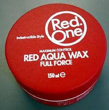 RED ONE massimo controllo ROSSO AQUA CERA indistruttibile stile 150ml