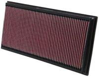 33-2857 K & N filtro dell'ARIA adatti a AUDI LAND ROVER PORSCHE VW