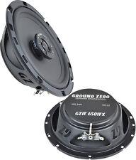 "Ground Zero Iridium GZIF 6501FX 165mm 6.5""  Coaxial Speaker Set 70W RMS Shallow"