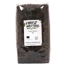 Forest Whole Foods - Organic Sun Dried Sultanas 2kg