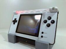 Gameboy Macro - DS Lite Gameboy Advance - White/Black - Red LED - iPhone Speaker