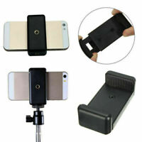 Ajustable Stand Phone Clip Tripod Mount Adapter Holder for Smartphone iPhone 1PC