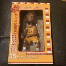 Nuevo Banco de clave LeBron James Cleveland Cavaliers Cabezón 11/15/2004 35th aniversario.