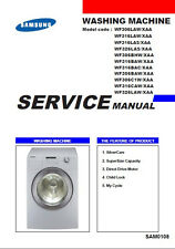 Samsung Front Load Washer Service - Repair Manual