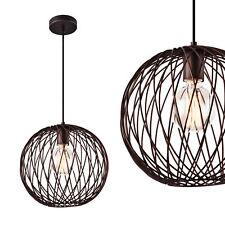 [lux.pro] Lampe à suspension métal cuivre plafonnier lumière suspendue design