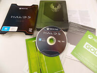 Mint Disc Xbox One Halo 5 Guardians Limited Edition Free Postage