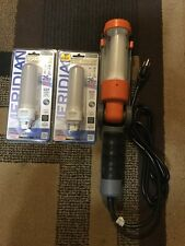 HDX Led Work Light with Grounded Outlet W/2 Additional Bulbs