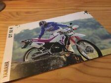 DT Yamaha Motorcycle Brochures