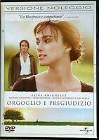 ORGOGLIO E PREGIUDIZIO (2005) un film di Joe Wright - DVD EX NOLEGGIO UNIVERSAL