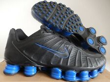 NIKE SHOX TLX TOTAL SHOX TURBO BLACK-BLACK-GAME ROYAL BLUE SZ 9 [488313-004]
