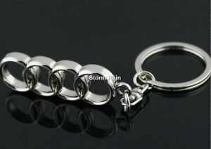 Audi Rings Keyring NEW UK Seller Boxed or UnBoxed Key Ring Chain