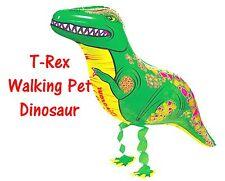 T-Rex Walking Pet Dinosaur Balloon Jurrassic Party Decoration