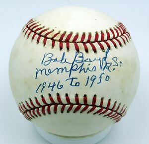 Bob Boyd - Autographed Ball - Memphis Red Sox - Negro Leagues - 1946-50