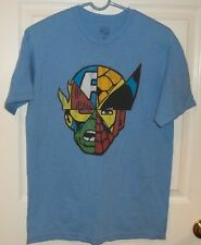 Mens MARVEL~Collage T-Shirt~sz MEDIUM Tee Top Shirt~NEW Graphic