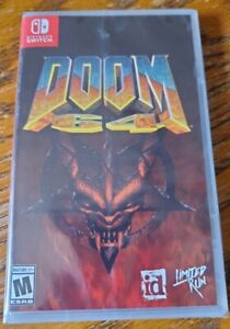 Doom 64 Nintendo Switch Game Rare Physical Copy Limited Run Games with card