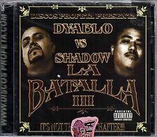 Dyablo , Profeta Records. La Batalla 3  Chicano Rap, r&b, Espanol [CD New]