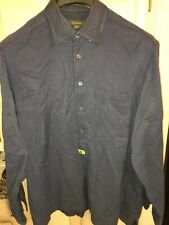 ermenegildo zegna shirt - Size XXL Romania Dark Blue