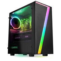 ULTRA FAST Gaming PC Computer Intel Quad Core i5 8GB 1TB Win10 2GB GT710 CHEAP