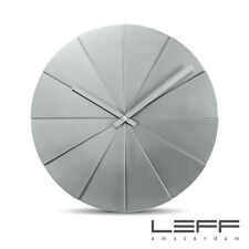 LEFF Amsterdam Scope45 Designer Erwin Termaat Wall Clock 45cm - Grey