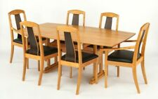 Master Craftsman –  Al Rosen Table  Set with 6 Chairs - Used