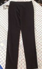 Bebop Junior Sz 5 Black Belted Skinny Twill Ankle Pants FREE Shpg NWTA
